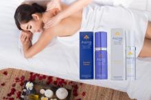 AspireLIFE Essential & Brightening Essences lay on blanket