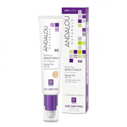 Andalou Naturals Skin Perfecting Beauty Balm Natural Tint 2 fl oz