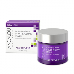Andalou Naturals BioActive 8 Berry Fruit Enzyme Mask 1.7 fl oz (50ml)