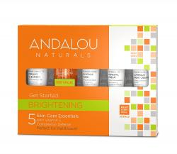Andalou Naturals Get Started Skin Brightening Kit