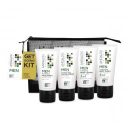 Andalou Naturals CannaCell MEN Get Going Kit