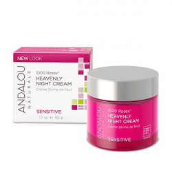 Andalou Naturals 1000 Roses Heavenly Night Cream 1.7 fl oz