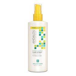 Andalou Naturals Sunflower Citrus Hair Spray Medium Hold 8.2 fl oz