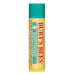 Burt's Bees Soothing Lip Balm with Eucalyptus and Menthol 0.15 oz
