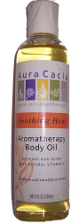 Aura Cacia Soothing Heat Aromatherapy Body Oil