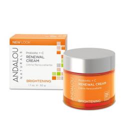 Andalou Naturals Probiotic + C Renewal Cream 1.7 fl oz