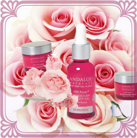 Andalou Roses -1000 Roses for Sensitive Skin